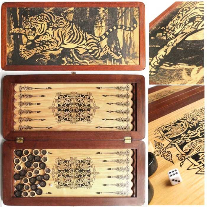Нарди Легенда (Тигр)