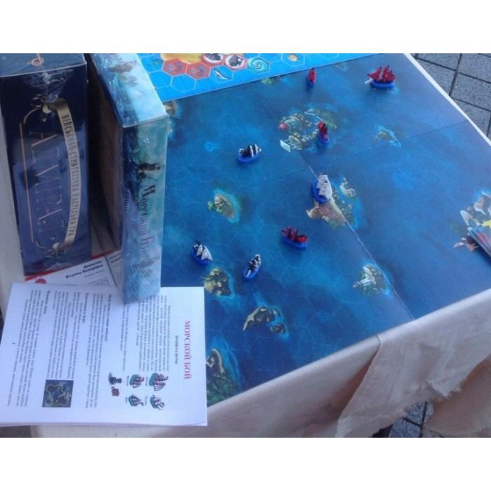 Настільна гра Морський Бій (BombatGame)
