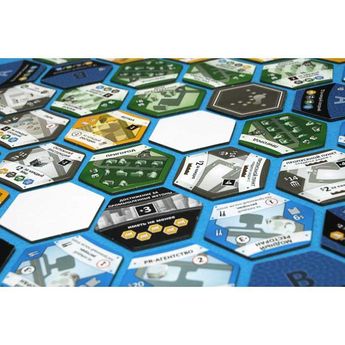 Настольная игра Сабурбия с дополнением (Suburbia + Suburbia Inc)