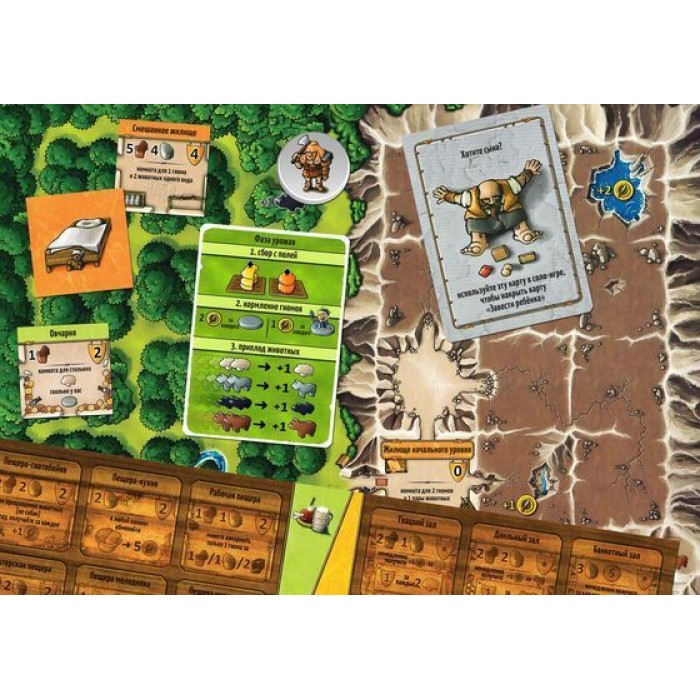 Настільна гра Каверна: Печерні фермери (Caverna: The Cave Farmers)