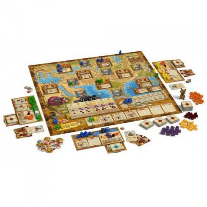 Настольная игра Путешествия Марко Поло (The Voyages of Marco Polo)