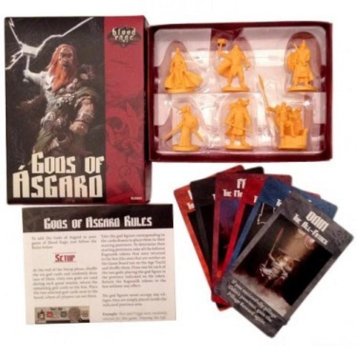 Настольная игра Кровь и Ярость: Боги Асгарда