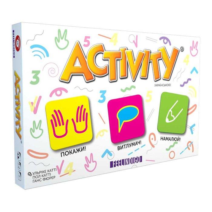Настільна гра Актівіті ( Активити на украинском) (Activity UA)