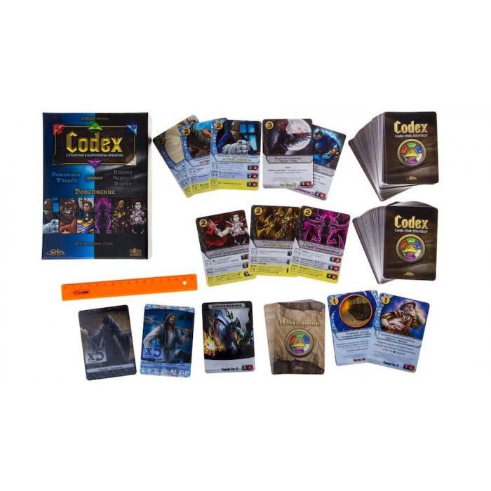 Настольная игра Codex: Синие против Черных (Доминион Тверди против Плети Черной Длани)