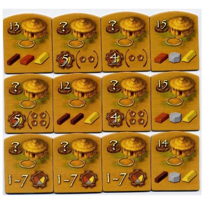 Настільна гра Кам'яний Вік (Stone Age, 100000 років до нашої ери) (рус. правила)