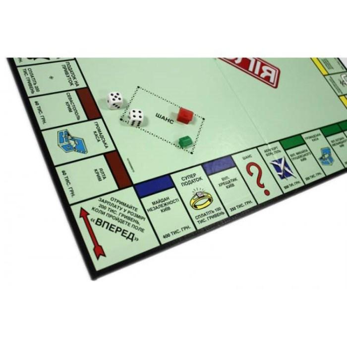 Настольная игра Монополия украинский язык (Hasbro)