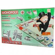 Настільна гра Монополія українською мовою (Hasbro)