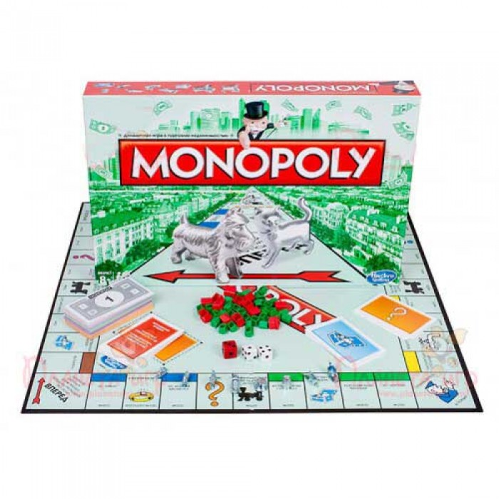 Настільна гра Монополія Стандарт (Monopoly Standart) (рос.)