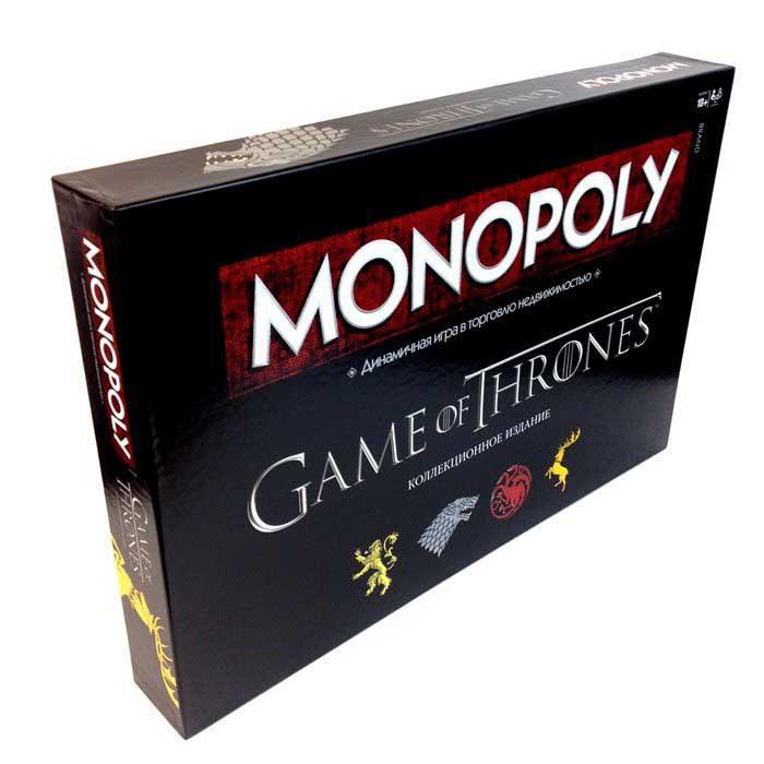 Настольная игра Монополия Игра Престолов (коллекционное издание) (Monopoly Game of Thrones)