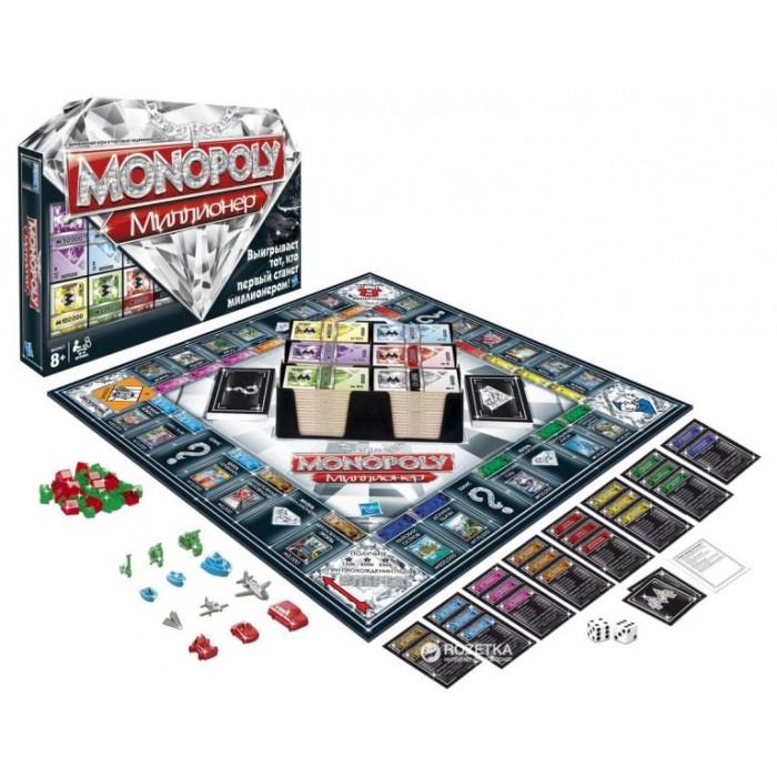 Настільна гра Монополія Мільйонер (Hasbro)