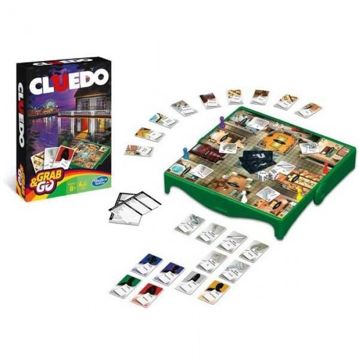 Настільна гра Клюедо Дорожня версія (Клуедо, Cluedo Travel, Clue)