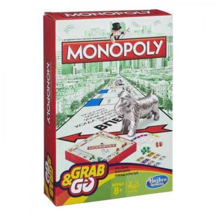 Настільна гра Монополія. Дорожня Гра (Monopoly)