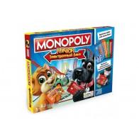 Настольная игра Монополия Юниор с банковскими карточками