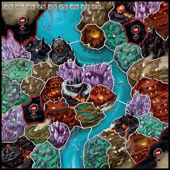 Настольная игра Маленький мир: Подземелья (Small World Underground)