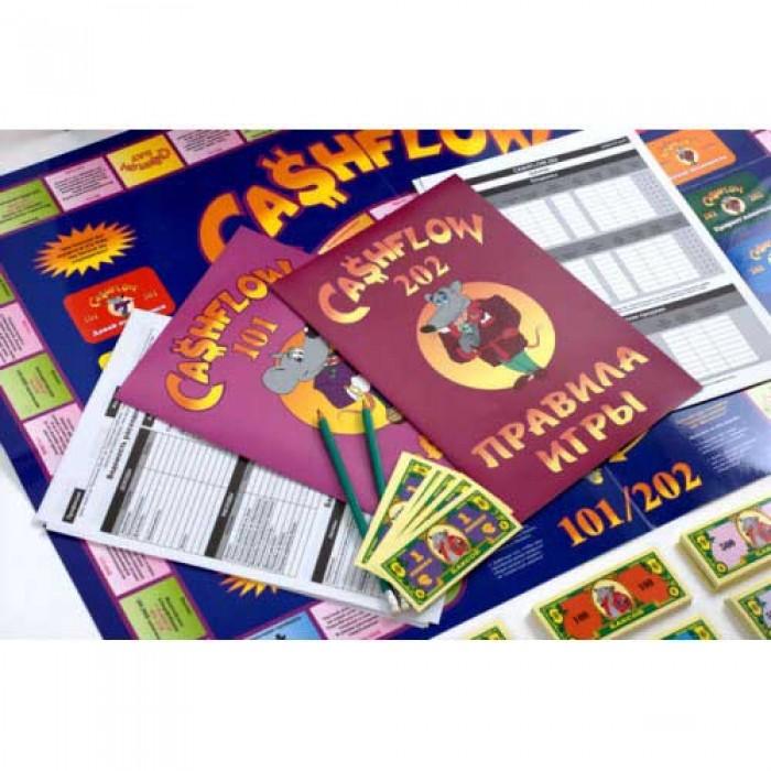 Настольная игра Денежный поток 101 + 202 (Cashflow 101 + 202)
