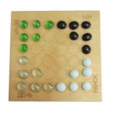 Настольная игра Шашки на четырех