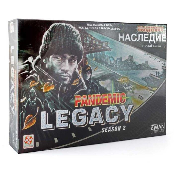 Настільна гра Пандемія: Спадщина Сезон 2 (чорна) (Pandemic: Legacy, black)