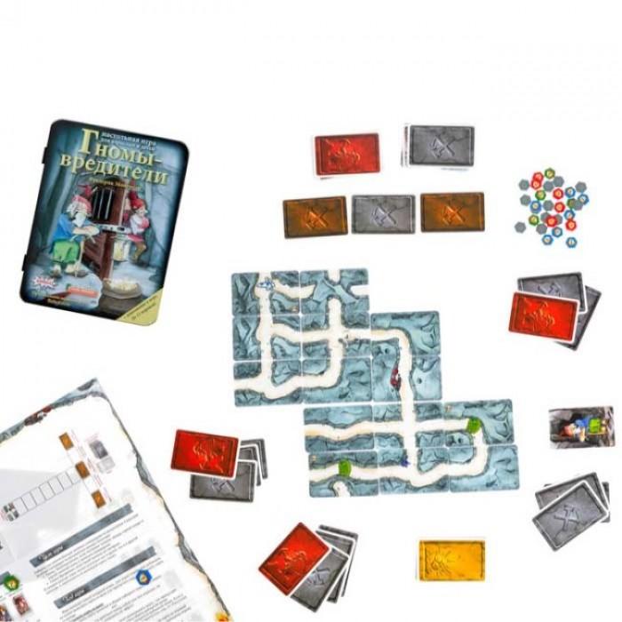 Настільна гра Гноми-шкідники Делюкс (Саботёр, Saboteur) (з доповненням)