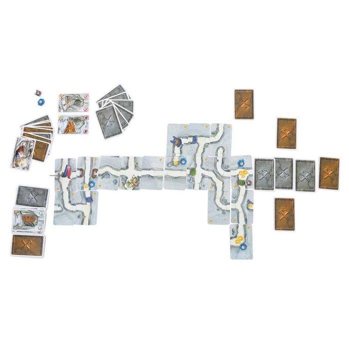 Настільна гра Гноми-шкідники: Дуель (Саботёр, Saboteur: The Due)