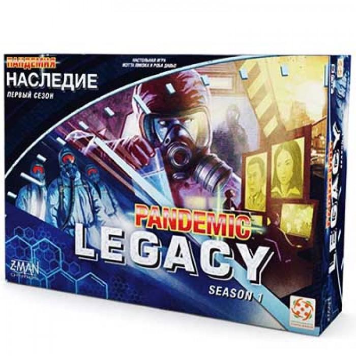 Настольная игра Пандемия: Наследие (синяя) (Pandemic: Legacy, blue)