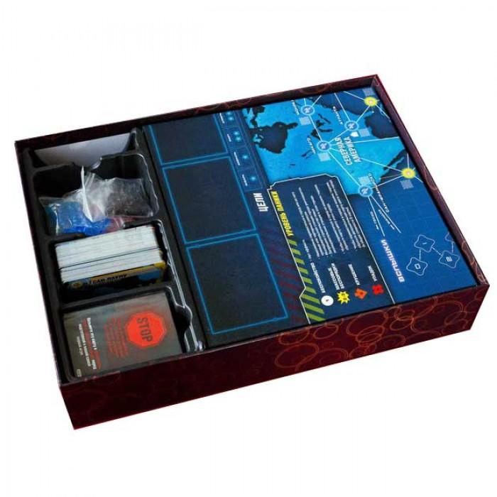 Настольная игра Пандемия: Наследие (красная) (Pandemic: Legacy, red)