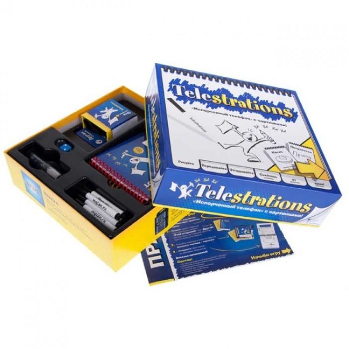 Настольная игра Сломанный телефон (Telestrations)