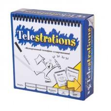 Настільна гра Зламаний телефон (Telestrations)