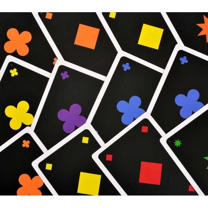 Игра Квёркл Румми  (Qwirkle Cards)