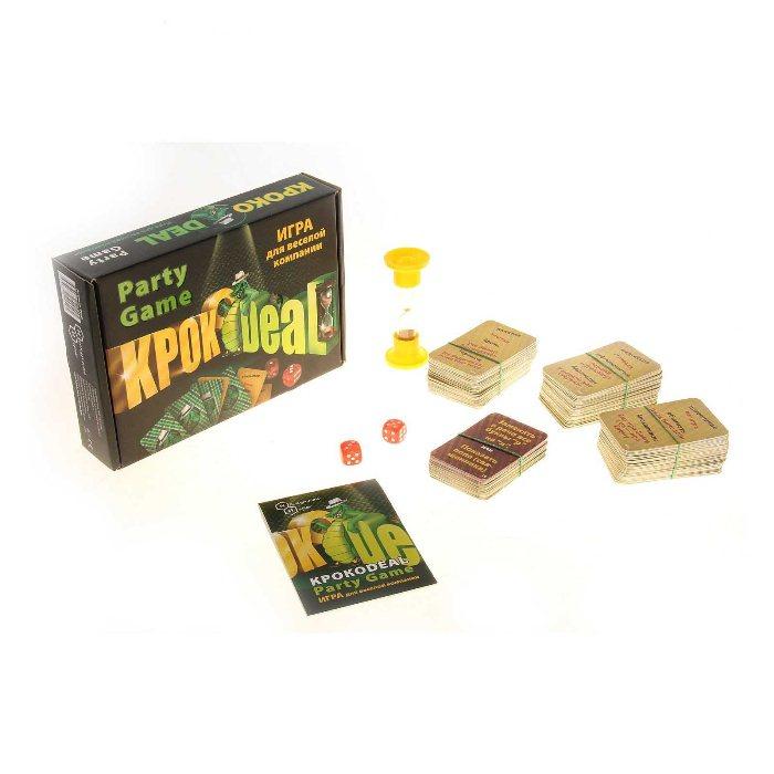 Настільна гра Кроко deal (Крокодил)