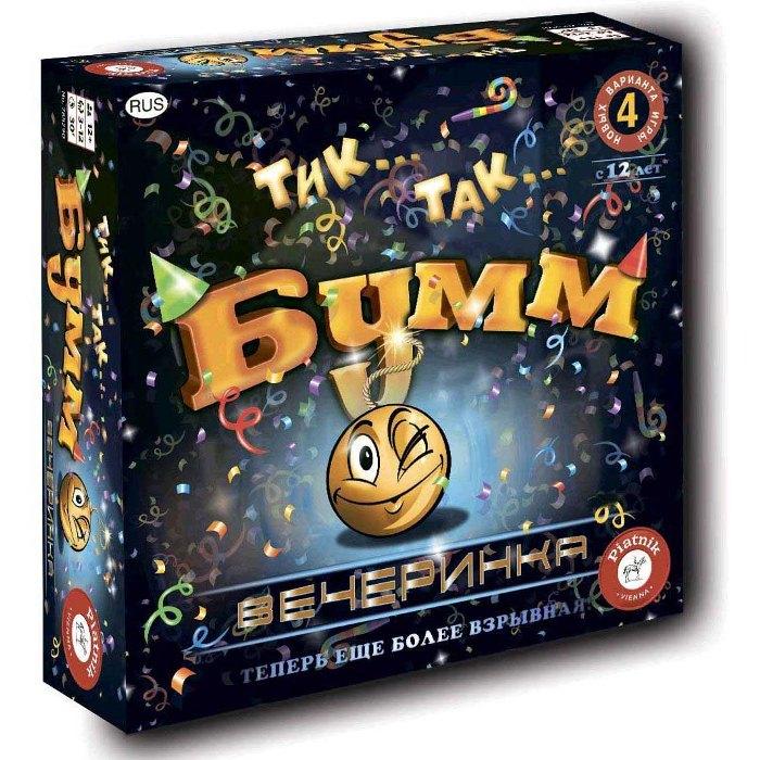 Настільна гра Тік Так Бумм Вечірка (Tick Tack Bumm Party)