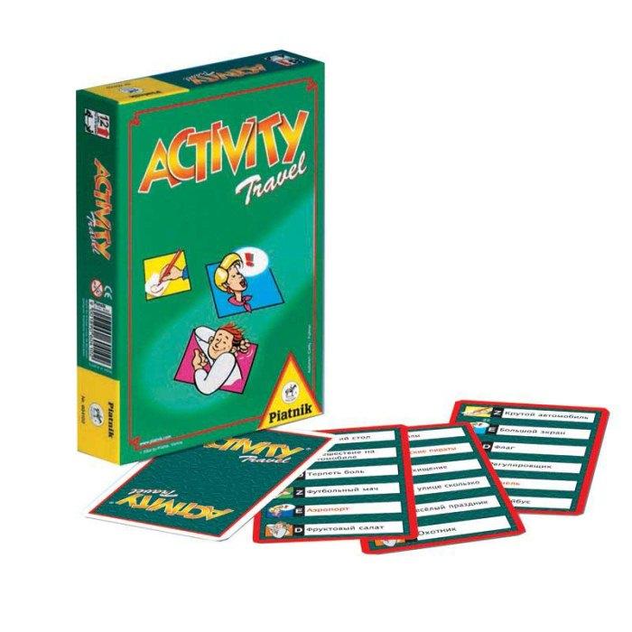 Настільна гра Активіті дорожня версія (Activity travel)