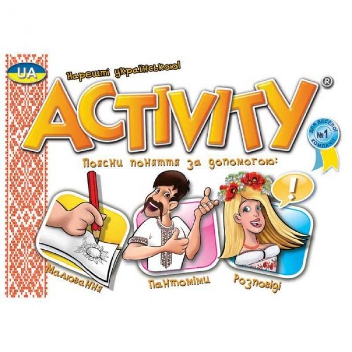 Настольная игра Активити на украинском (Актівіті українською, Activity UA)