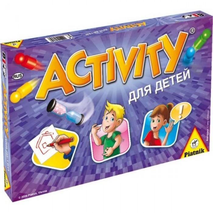 Настольная игра Активити для детей (Activity Junior)