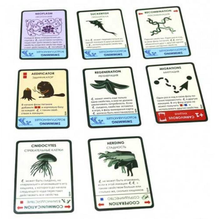 Настільна гра Еволюція. Континенти (Evolution)