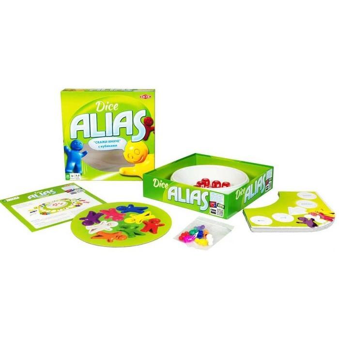 Настольная игра Алиас с кубиками (Скажи иначе, Alias Dice)