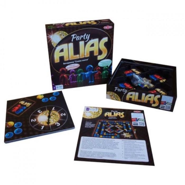 Настільна гра Паті Аліас (Алиас для вечірок, Скажи інакше, Party Alias) (нова версія)