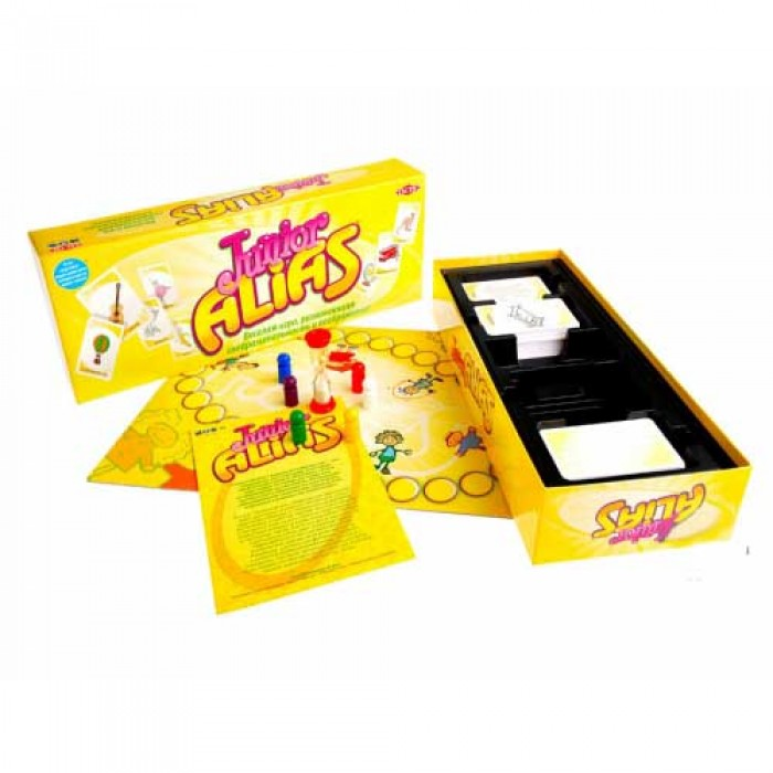Настольная игра Алиас Junior (Элиас Юниор, Alias Джуниор)