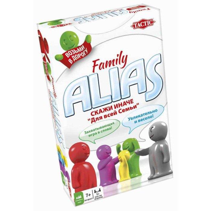 Настольная игра Семейный Алиас. Дорожная версия (Family Alias travel)