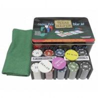 Покерный набор Texas Holdem на 200 фишек (коробка) 200T-2