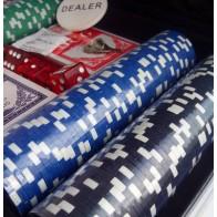 Покерный набор на 200 фишек (кейс)