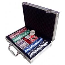 Покерний набір на 200 фішок (кейс)
