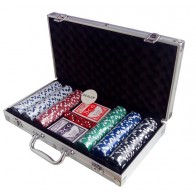 Покерний набір на 300 фішок (кейс)
