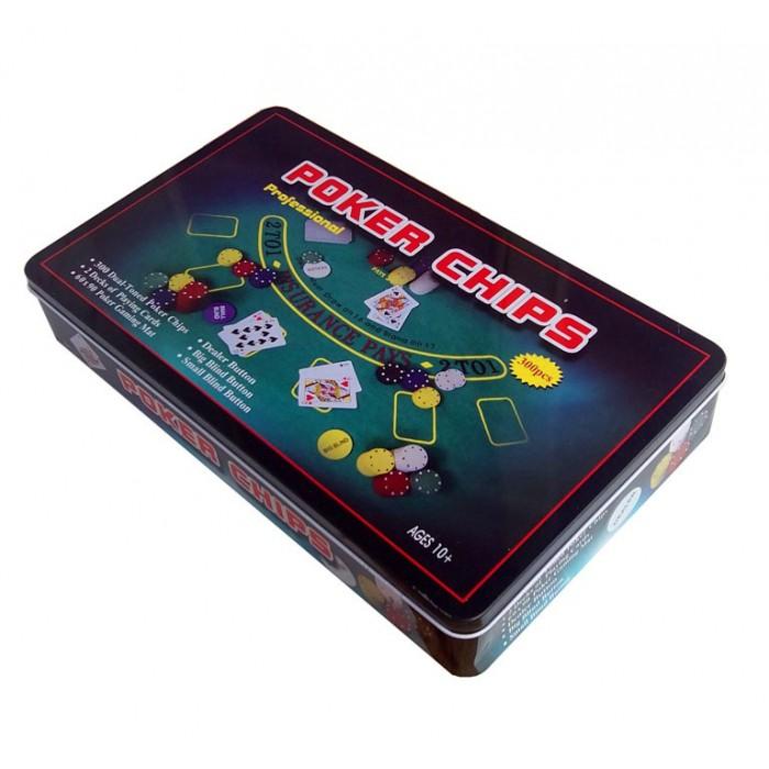 Покерний набір Poker Chips на 300 фішок (коробка)