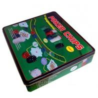 Покерний набір Poker Chips на 500 фішок (коробка)
