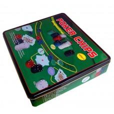 Покерный набор Poker Chips на 500 фишек (коробка)