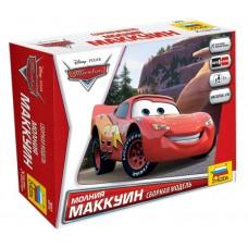 Збірна модель з мультфільму Тачки - Маккуін