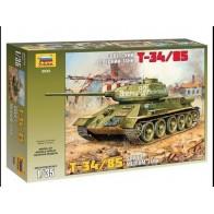 Сборная модель для склеивания советский танк Т-34/85