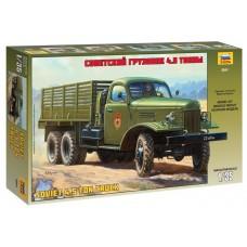 Сборная модель для склеивания грузовик ЗиС-151
