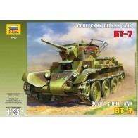 Сборная модель для склеивания советский танк БТ-7