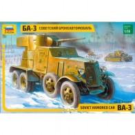 Сборная модель для склеивания бронеавтомобиль БА-3